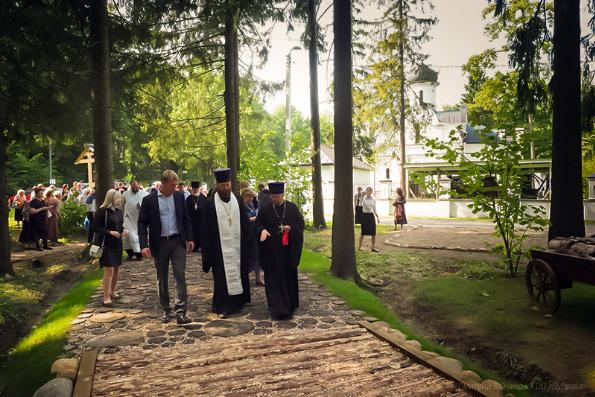 В Сергиевом Посаде на пересечении Переславской дороги, которой ходил преподобный Сергий Радонежский, открылся Музей дороги