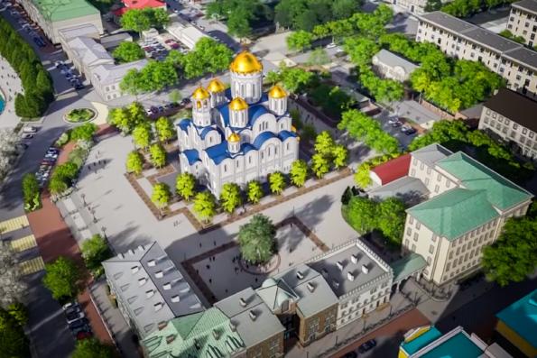 В Екатеринбурге подвели итоги опроса по выбору места для строительства храма святой Екатерины