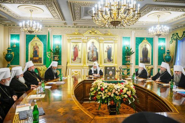 Заявление Священного Синода Русской Православной Церкви о ситуации, сложившейся в Элладской Церкви