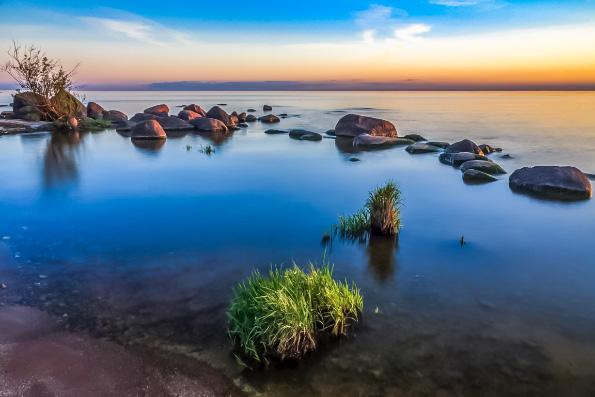 На дне Чудского озера нашли фундамент храма XV века