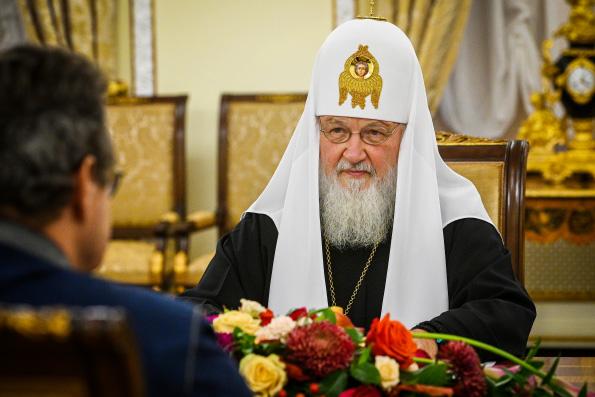 Патриарх Кирилл: Светское государство не должно отрицать христианские ценности