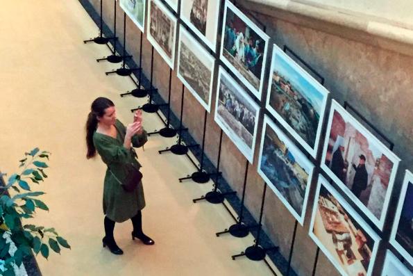Фотовыставка в Храме Христа Спасителя