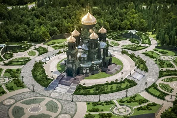 Центральную икону главного военного храма России создадут на личные средства Владимира Путина