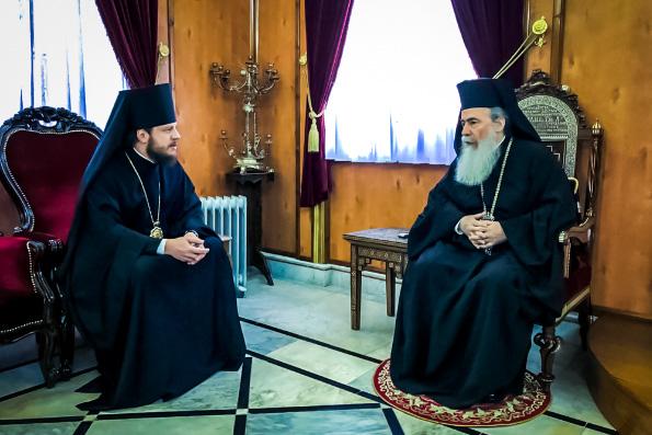 Патриарх Иерусалимский Феофил выразил поддержку канонической Украинской Православной Церкви