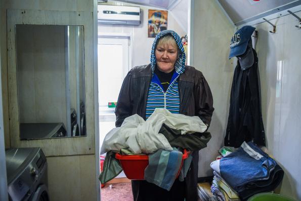 Православная служба «Милосердие» открыла в Москве прачечную для бездомных