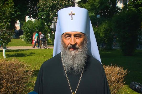 Митрополит Киевский Онуфрий: Надеюсь, что Бог поможет новому президенту Украины воплотить в жизнь добрые намерения