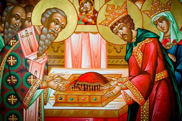 Положение Честно́й ризы Пресвятой Богородицы во Влахе́рне