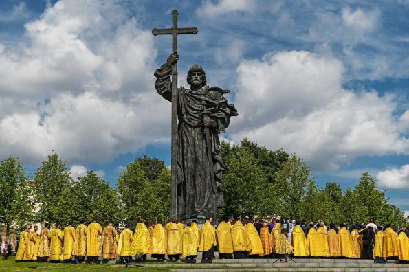 Патриарх Кирилл: Князь Владимир — убедительный пример того, как Евангелие преображает человека