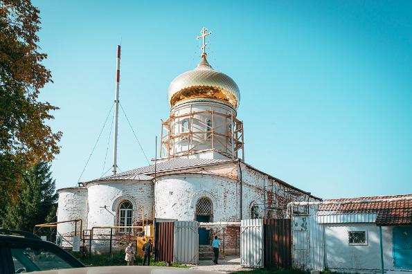 Возрождающийся Казанско-Богородицкий монастырь в Бугульме отметил 130-летие