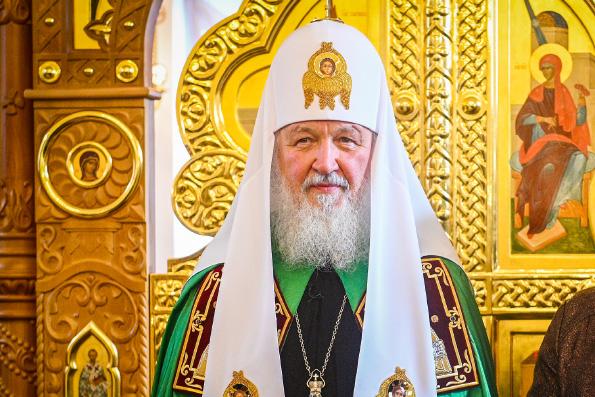 Патриарх Кирилл выразил радость в связи с возвращением западноевропейских приходов русской традиции в лоно Русской Церкви