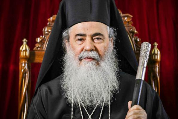 Патриарх Иерусалимский Феофил признает на Украине только ту Церковь, которую возглавляет митрополит Онуфрий