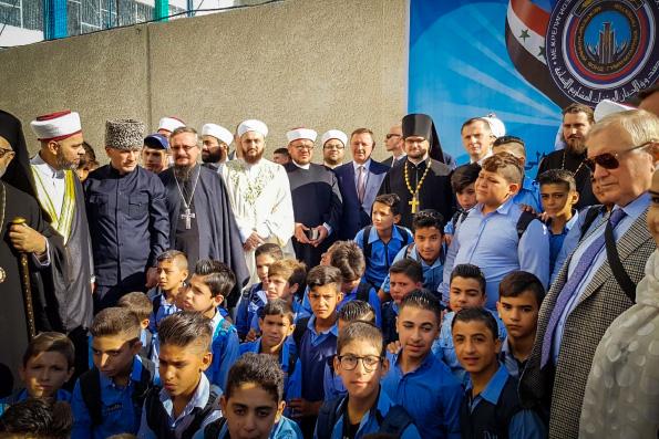 Русская Православная Церковь оказала помощь в восстановлении школы в Сирии