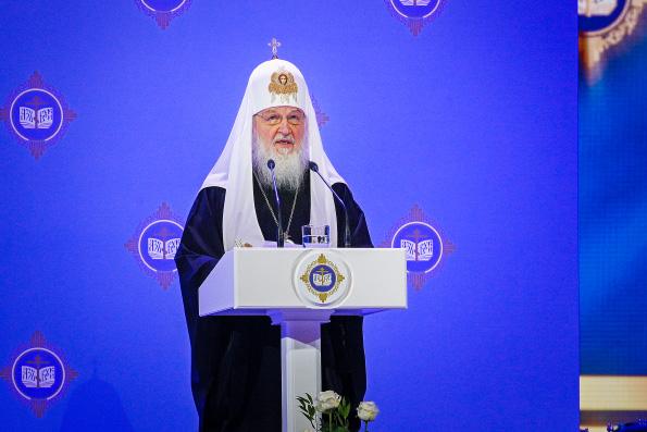 Патриарх Кирилл: От того, каким будет результат воспитания молодых людей, сегодня во многом зависит благополучие и процветание России