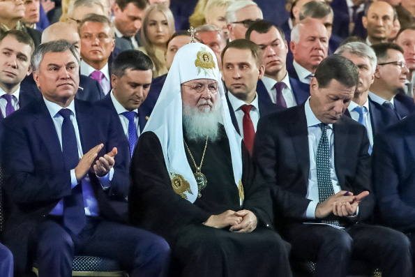 Патриарх Кирилл призвал объединить усилия в поддержку идеалов семейной жизни