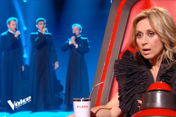 Православные семинаристы поразили жюри французского «Голоса»