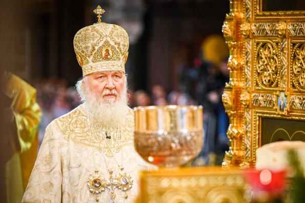 Святейший Патриарх Кирилл: Участие в Литургии изменяет человеческую душу
