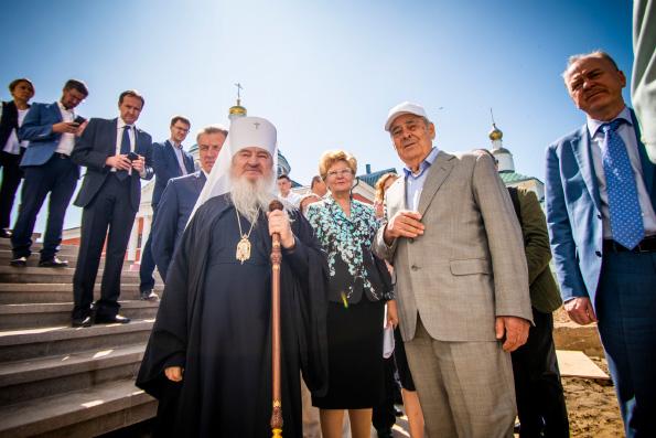 Минтимер Шаймиев: Соработничество — это главное в воссоздании собора Казанской иконы Божией Матери