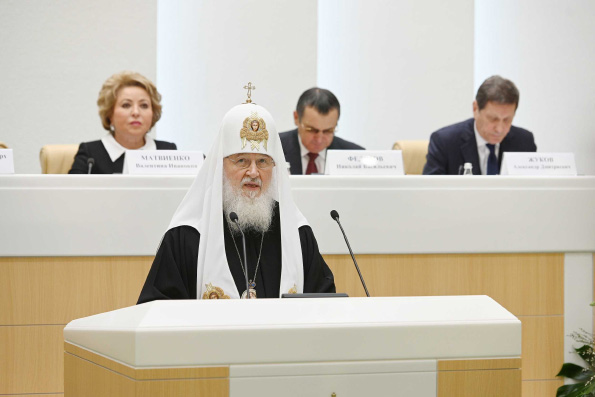 Патриарх Кирилл о проблемах семьи, биоэтики и развития технологий
