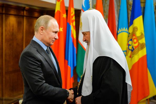 Патриарх Кирилл поблагодарил Владимира Путина за внимание к нуждам православных