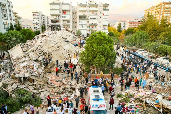 Святейший Патриарх Кирилл выразил соболезнование в связи с землетрясением на западе Турции