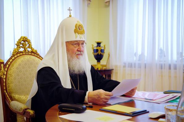 Святейший Патриарх Кирилл: Коронавирус и все, что с ним связано, — лишь эпизод на историческом пути Церкви