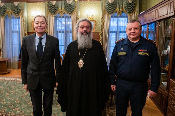Глава Татарстанской митрополии встретился с руководителем республиканского УФСИН