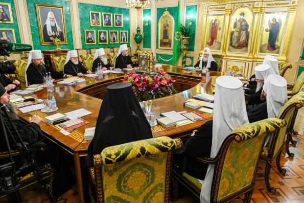 В Москве состоялось первое в 2020 году заседание Священного Синода