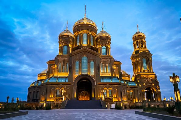 Стала известна дата великого освящения главного храма Вооруженных сил РФ