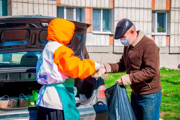 Церковь стала одним из центров благотворительной помощи и поддержки в период пандемии