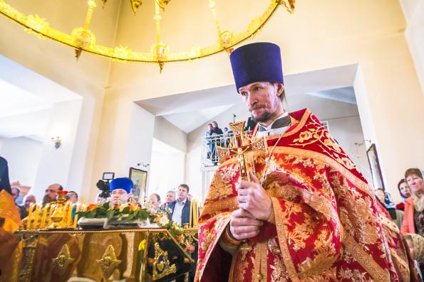 Поздравление митрополита Феофана протоиерею Святославу Мирганиеву с тезоименитством