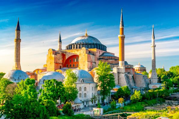 Эрдоган пообещал Владимиру Путину сохранить христианские святыни в Святой Софии