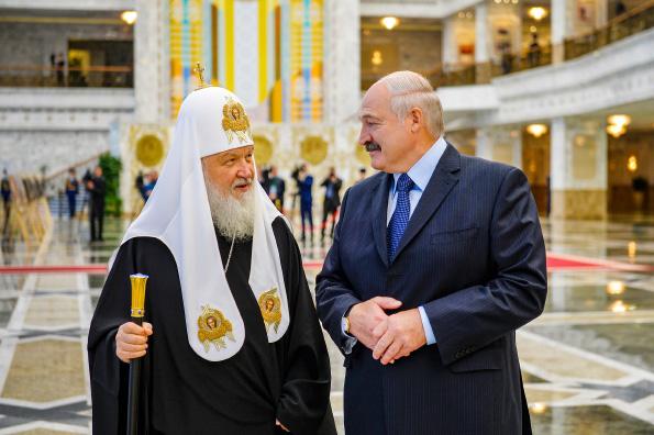 Патриарх Кирилл выразил надежду на продолжение сотрудничества с властями Беларуси в духовно-нравственных вопросах