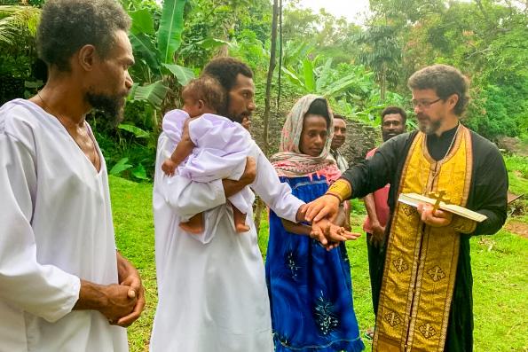 Жители Папуа — Новой Гвинеи просят Патриарха Кирилла начать в стране православную миссию