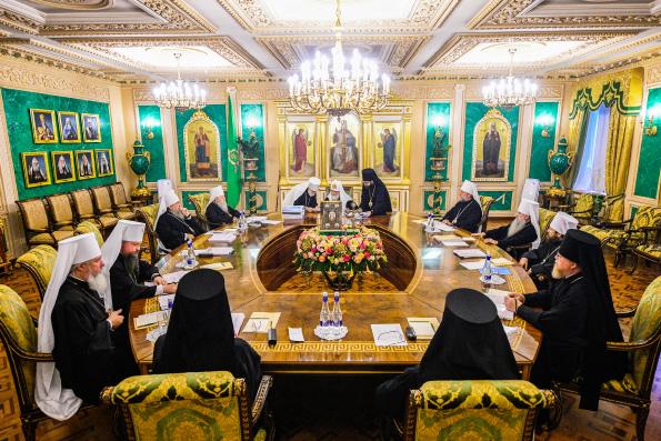 Священный Синод Русской Православной Церкви принял ряд важных кадровых решений, касающихся архиереев