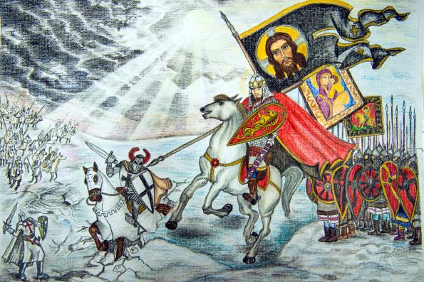 Объявлен всероссийский творческий конкурс «Александр Невский»
