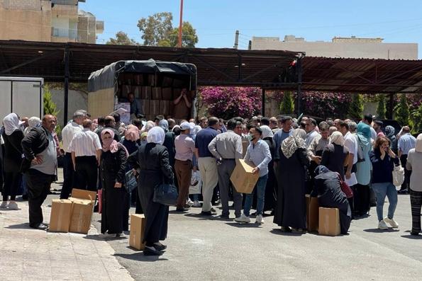 Представительство Русской Православной Церкви в Дамаске передало помощь детям сирийской провинции Дераа