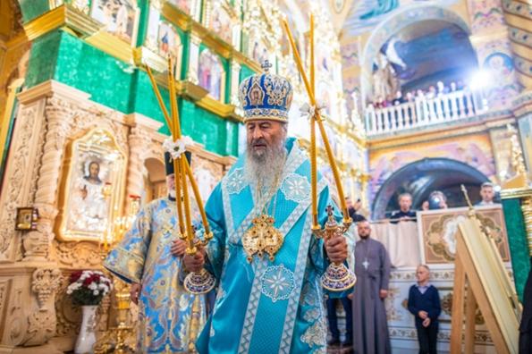 Митрополит Онуфрий сокрушает немощные дерзости демонов, нацеленные на подрыв единства Церкви, — патриарх Кирилл