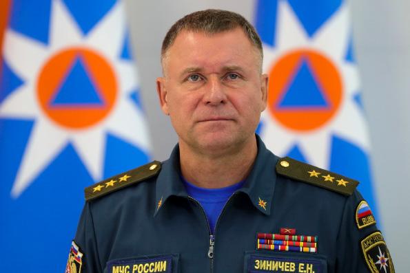 Святейший Патриарх Кирилл выразил соболезнование в связи с гибелью главы МЧС Евгения Зиничева