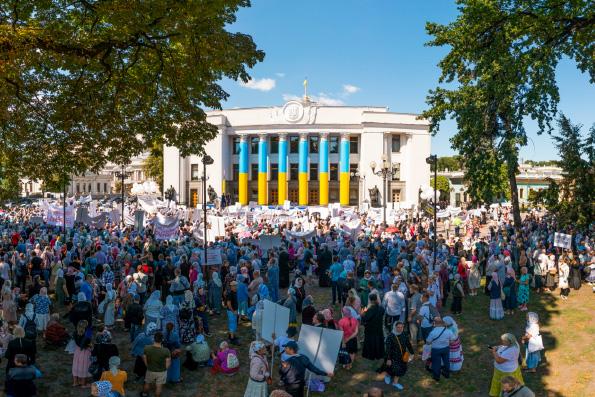 Митрополит Иларион: Позорный визит Патриарха Варфоломея на Украину продемонстрировал всему миру плоды его деяний